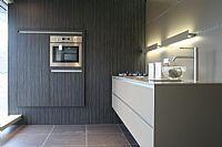 Eggersmann rechte design keuken met kastenwand