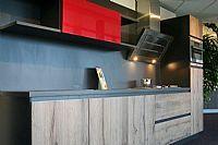 Mooie houtdesign keuken (Y124)