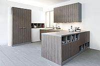 Strakke hout-look keuken 7.5