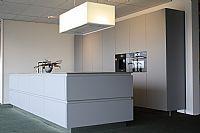 Design eilandkeuken mat met Bosch apparatuur