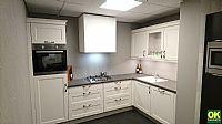 Klassieke lichte keuken