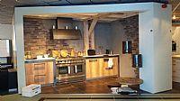 Originele keuken met fornuis Y33