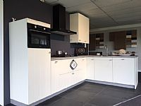 Keuken met schiereiland