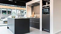 Strakke Moderne keuken IP6800 Grafiet Mat (U)