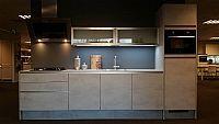 Rechte keuken in Betonkleur 19 (NE)