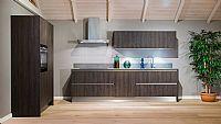 Strakke houten keuken (29 G)