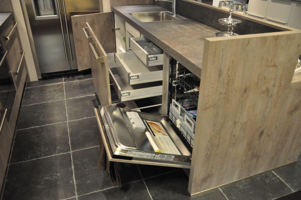 Parallel Keuken Ikea : Eiken-look parallelle Keller Elba [33554]