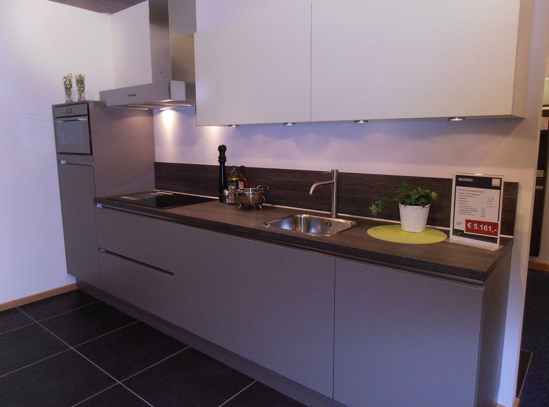 De voordeligste woonwinkel van nederland rechte keuken in basaltgrijs - Afbeelding van keuken amenagee ...